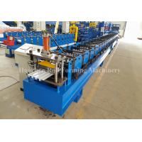 China Steel Plate roof sheet making machine , Wall Panel Forming Machine With Hydraulic Decoiler wholesale