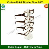 China Clear Acrylic 4 Tier Eyeglass Sunglasses Glasses Display Stand YM6-122 wholesale