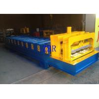 China High Speed Arc Glazed Tile Roll Forming Machine 60Hz 5T Loading capacity wholesale