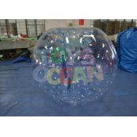 China 1mm Human Sized Inflatable Bumper Ball Walking Safe For Adults wholesale