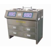 China Stainless Steel Cabinet Style Grinding Polishing Machine with Stepless Speed wholesale