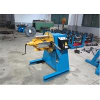 Damper Handle Roller Shutter Forming Machine 1.5-2.0mm 7.5kw Cutting Power