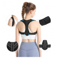 China BSCI factory unisex adjustable upper back brace clavicle support posture corrector wholesale