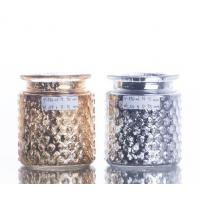 China CANDLE HOLDER,Exquisite Electroplated glass candle jar,Candle Jars,candle hoder jar on sale