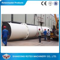 Quality High Capacity Rotary Drum Dryer / Wood Sawdust Dryer GHG 1.8 * 24 for sale