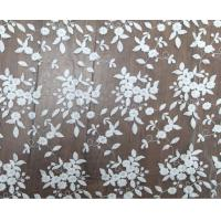 China 125cm Polyester White Embroidered Mesh Lace Fabric For Wedding Dress Wholesale wholesale
