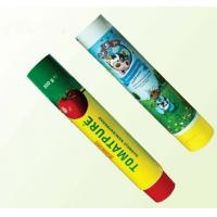 China Cylindrical ABL Laminated Food Packaging Tubes For Milk / Chocolate , 250μm - 300μm wholesale