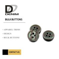 China Eco - Friendly 4 Holes Resin Buttons , Mother Of Pearl Buttons Bulk Orders on sale