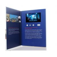 China 7 inch screen Video Postcard with swich buttons , video business cards with Sound speakers wholesale