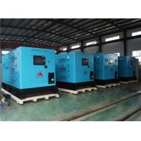 4 Sets silent type 400KW diesel genset exported to South Asia