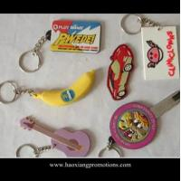 China Made in China high quality 3D Custom soft PVC Rubber Keychain/ Silicone Keyring wholesale