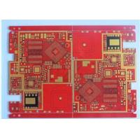China Red Solder Mask Prototype High Density Interconnect HDI PCB High TG Material 20 Layer wholesale