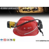 China 6.8Ah Semi Corded CREE LED Mining Light With Rear Warning Light 15000 Lux wholesale