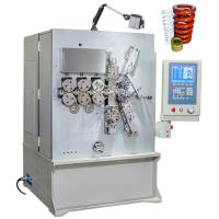 China Computerized CNC Big Compression Spring Coiling Machine With Six Axis Grey White wholesale