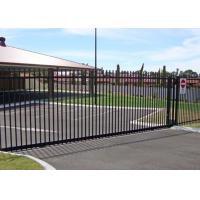 China Residential Automatic Sliding Gates For Driveways Hot Dipped Galvanized Treatment wholesale