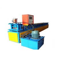 China Main Power 4Kw Roller Shutter Forming Machine 15 Rows Mold Cutting Roller MaterialC45 Steel on sale