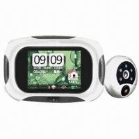 China Visual Monitoring Doorbell with Automatic Camera, 3.2-inch LCD Screen and 70° Visual Angle on sale