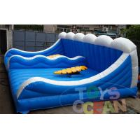 China Double Player Mechanical Surfing Inflatable Sport Game For Outdoor Party Using wholesale