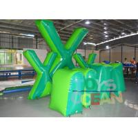 China Custom Inflatable Giant X Speedball Air Bunker Paintball Laser Tag wholesale