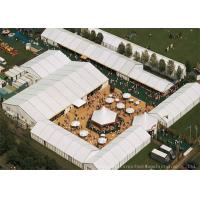 China Width 15m Durable Aluminium Frame Warehouse Tents Use For Exhibition Event wholesale