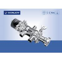 China SS316 Multiport Radial Diaphragm Valve with manual / pneumatic interchangeable on sale