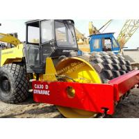 China DYNAPAC CA30D Used Dynapac Road Roller , Sweden Single Drum Compactor Used wholesale