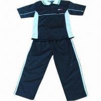 China Children's Training and Jogging Suits, Made of 100% Polyester on sale