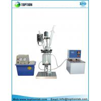 China Double layer glass reactor high borosilicate glass material Jacketed reactor on sale