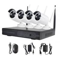 China 4CH 7WIFI Home Security Camera Systems / Nvr Surveillance System on sale