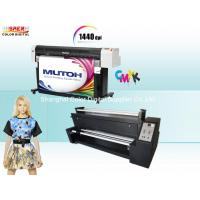 China High Precision Mutoh RJ 900c Sublimation Fabric Printer With Epson DX5 Head wholesale