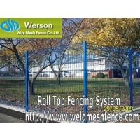 China Roll Top Fencing System From Werson Fencing System wholesale