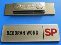 Wholesale custom luxury metal badge with magnet and logo printing manufacturer from china suppliers