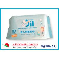 China Soft & Comfortable Baby Wet and Dry Pure Cotton Wipes Not Remove Flocculation wholesale