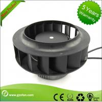China Backward Curved EC Motor Fan / Centrifugal Exhaust Fan Blower High Volume wholesale