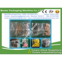 Quality Plastic part counting and packing machine, plastic part pouch making machine, for sale