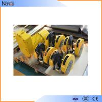 China Steel Electric Wire Rope Hoist Monorail Hoist Trolley With CE Certified wholesale