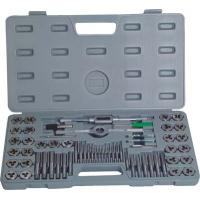 China High Efficient Metal Working Tools 60Pcs Metric Taps And Dies Set Screw Tap and Threading Die wholesale