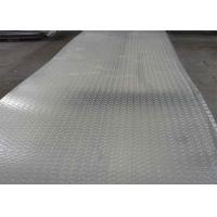 Quality 5052 5083 H12 H14 Ribbed Embossed Aluminum Sheet  / Aluminum Tread Plate For Ship for sale