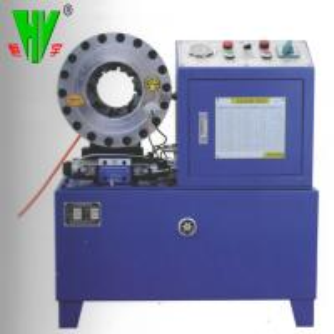 China Hydraulic hose fitting machine 1/4''-2'' crimping hydraulic hose pressing machine wholesale