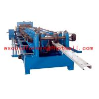 China High Frequency PLC CZ Purlin Roll Former with Gear Box Transmission wholesale