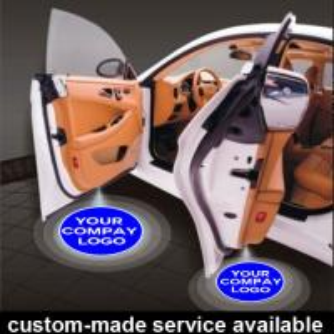 China Custom Led Car Door Projector Light , Led Car Door Logo Laser Projector Light wholesale