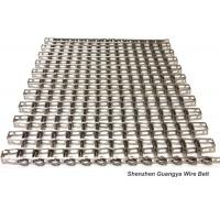 Quality 304 Stainless Steel Wire Mesh Conveyor Belt , Honeycomb Belt Conveyor Heat for sale