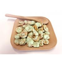 China Wasabi Flavor Cooated Fried Broad Beans Snack With Kosher Certificate wholesale