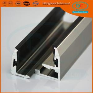 China 6063 T5 aluminium profile for kitchen cabinets,furniture aluminium profiles wholesale