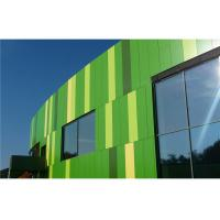 Quality Bamboo Green Facade / Curtain Wall PVDF Aluminum Composite Panel Weatherproof for sale