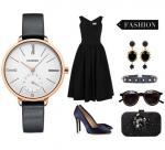 Wholesale Retail Fashion Women Minimalist Genuine Leather Stainless Steel Quartz