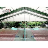 China High Strength Aluminum Sport Event Tents for Outdoor Tennis Game Transparent wholesale