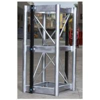 China Lifting Mechanism Hoist Galvanized Steel Section , Building Site Hoist Structural Steel Sections wholesale