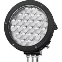 China Black Cree 10000 lumen 9 Inch Offroad LED Driving Lights , Round 120W LED Work Light wholesale