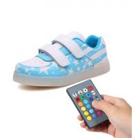 Quality Trainer Simulation Led Shoes , Remote Control Girls Light Up Sneakers for sale